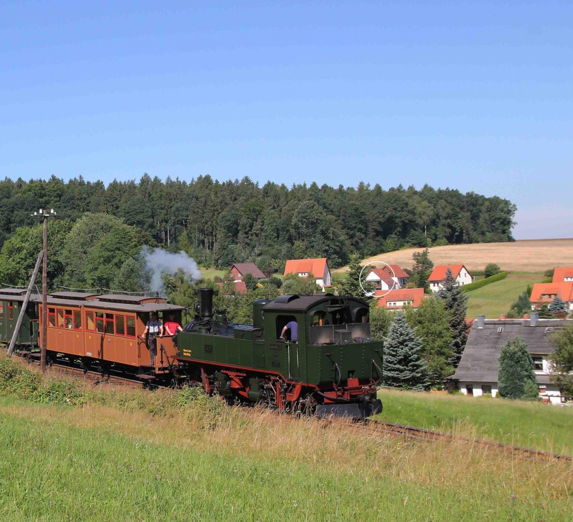 Ferienwohnung Bahnelblick